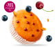 Cherry and Blueberry minicakes