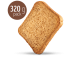 Whole Wheat rusks