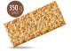 Emmer wheat, Buckwheat and Quinoa crackers