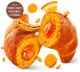 Croissant with Orange, Carrot and Pumpkin