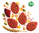 Crunchy snack with Legumes and Pumpkin seeds
