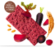 Whole Wheat Crackers with Beetroot and Black carrot